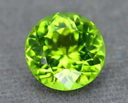 Exquisit Color 4.13 ct Peridot Sku-6