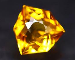 Madeira Citrine 2.28Ct Natural Vivid Golden Orange Color Citrine B2637