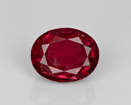 Ruby, 4.69ct - Mined in India