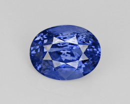 Blue Sapphire, 10.61ct - Mined in Sri Lanka | Certified by GIA & GRS