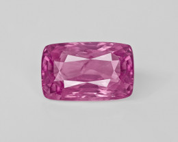 Pink Sapphire, 5.18ct - Mined in Madagascar | Certified by GRS