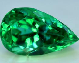 Kunzite, 28.75 Carats Amazing Lush Green Hiddenite Kunzite Gemstone