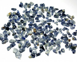 Amazing Natural Blue color Sapphire crystals rough lot 250 Cts-A#8