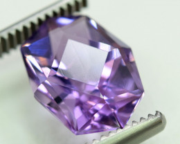 NR 5.75 cts Fancy Cut Natural Purple Color Amehtyst Gemstone