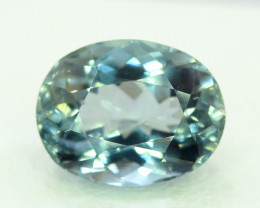 NR-3.30 Carats Natural Untreated Blue Aquamarine Gemstone