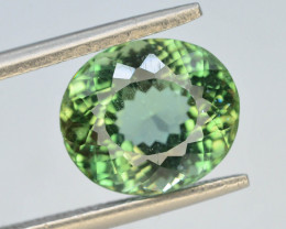 Great Luster 4.30 ct Green Apatite