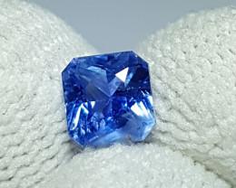NO HEAT 1.20 CTS CERTIFIED NATURAL STUNNING CORNFLOWER BLUE SAPPHIRE CEYLON
