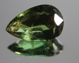 Green Apatite 3.00ct Natural Pear