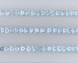 20.45 Carats Aquamarine Gemstones Parcels