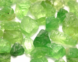 500Ct Natural Tsavorite Garnet Facet Rough Parcel