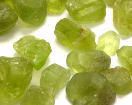 1000Ct Natural Peridot Facet Rough Parcel