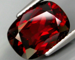 5.48 Ct. Natural Top Red Rhodolite Garnet Africa – IGE Certificate