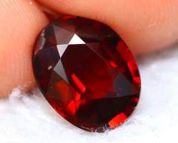 Rhodolite 3.06Ct Natural Red Rhodolite Garnet D2703
