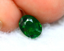 Tsavorite 0.87Ct Natural Intense Vivid Green Color Tsavorite Garnet D2708