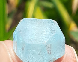 40.25Cts Blue Topaz Crystal Rough