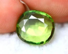 Green Sapphire 2.16Ct Natural Fancy Green Sapphire E2823