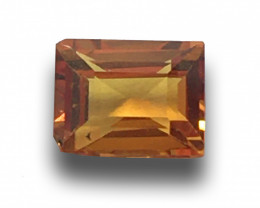 Natural Unheated Orange sapphire |Loose Gemstone|New| Sri Lanka