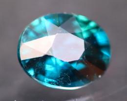Unheated Peacock Sapphire 1.01Ct Natural Green Blue Sapphire A2713