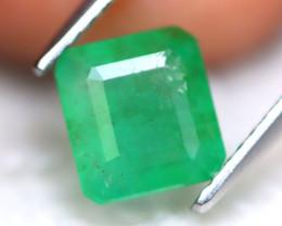 Zambian Emerald 1.74Ct Natural Green Color Zambian Emerald  A2717