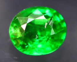 Tsavorite 0.72Ct Natural Intense Vivid Green Color Tsavorite Garnet A2727
