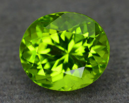 Exquisit Color 3.96 ct Peridot Sku-6