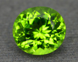 Exquisite Color 5.80 ct Peridot Burma Sku-6