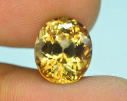 Top Quality 6.80 ct Champagne Color Topaz Skardu Pakistan SSSS