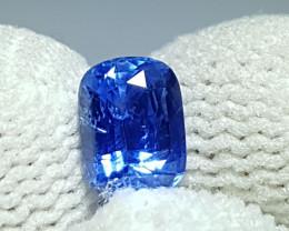 NO HEAT 1.12 CTS CERTIFIED NATURAL STUNNING CORNFLOWER BLUE SAPPHIRE SRI LA