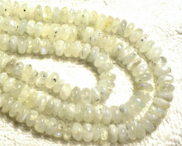 946.0 Tcw. 3 Strand Moonstone Necklace - Beautiful
