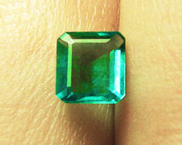 1.82 ct Top Stone Emerald Certified!