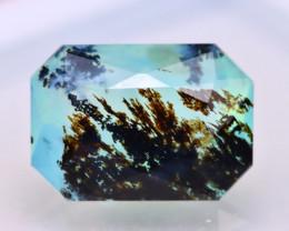 Dendrite Paraiba Opal 3.68Ct Natural Peruvian Paraiba Color Opal DR75