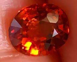 Stunning Orange Red Spessartite Garnet OvalCut  gem C13P