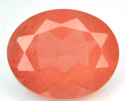 2.35 Cts Natural Brownish Red Sunstone Andesine Oval Congo