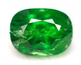 Tsavorite 1.30Ct Natural Intense Vivid Green Color Tsavorite Garnet B2808