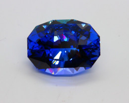 FLAWLESS 15.93 ct TANZANITE AAA D - BLOCK
