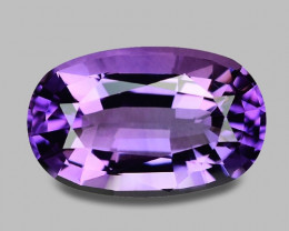 Flawless natural Rwandan purple amethyst.