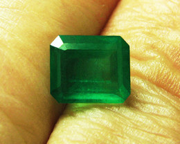 3.16 ct Absolute High-End Emerald Certified!