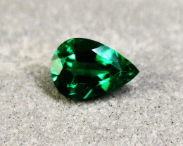 0.82 ct Top Of The Line Emerald Certified!