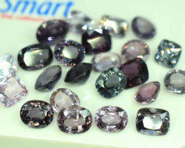 41 carats Natural Spinel Gemstones Lot From Burma
