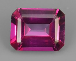 4.20 CTS SUPERIOR! TOP OCTOGON SHAPE HOT PINK-TOPAZ