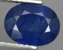 2.80 Cts Natural Intense Beautiful Blue Sapphire Oval Shape From MADAGASCAR