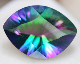 8.65ct Natural Mystic Topaz Marquise Cut Lot V6002