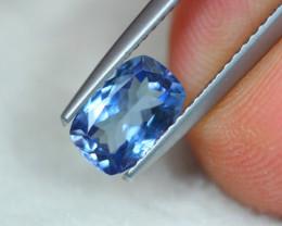 1.27ct Natural Violet Blue Tanzanite Octagon Cut Lot V6011