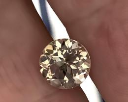 3.19ct Brilliant Silver White Topaz - Sparkling  gem