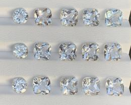 37.05 Carats Topaz Gemstones Parcels