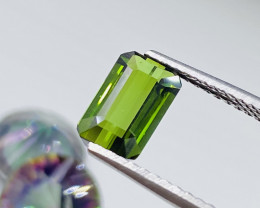 """""""NR"""" AAA+ Quality 2.35 Carats Top Green Color"""