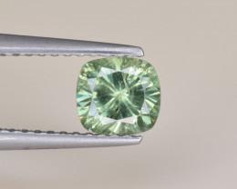 Natural Demantoid Garnet 0.79 Cts, Full Sparkle Faceted Gemstone