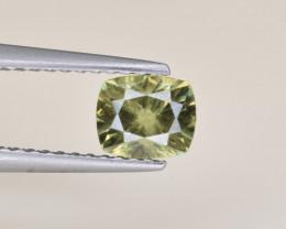 Natural Demantoid Garnet 0.87 Cts, Full Sparkle Faceted Gemstone