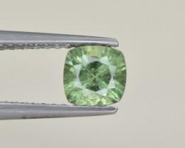 Natural Demantoid Garnet 0.91 Cts, Full Sparkle Faceted Gemstone