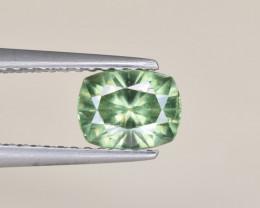 Natural Demantoid Garnet 0.98 Cts, Full Sparkle Faceted Gemstone